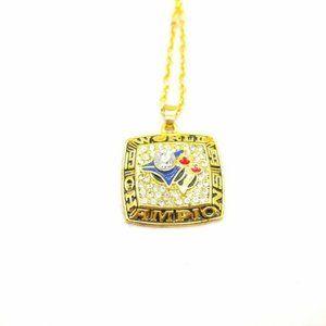 USA Toronto Blue Jays 1993 Pendant Necklace